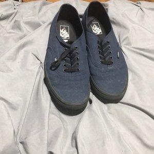 Vans Blue/Black
